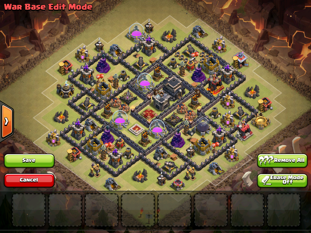 Townhall 9 bases jamo clash of clans